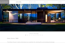 GLASS HOUSE  New Cannan    visit  open by appointments  tickets $25  10 min from zen house