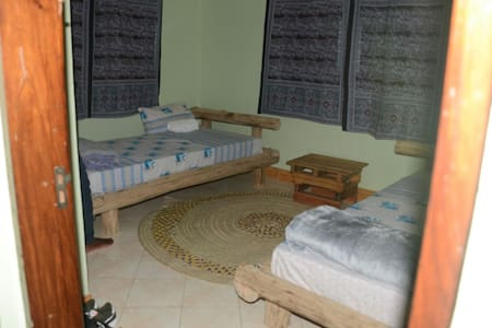 Kili Travellers rest hostel.