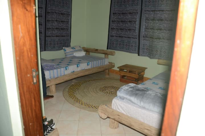 Kili Travellers rest hostel.