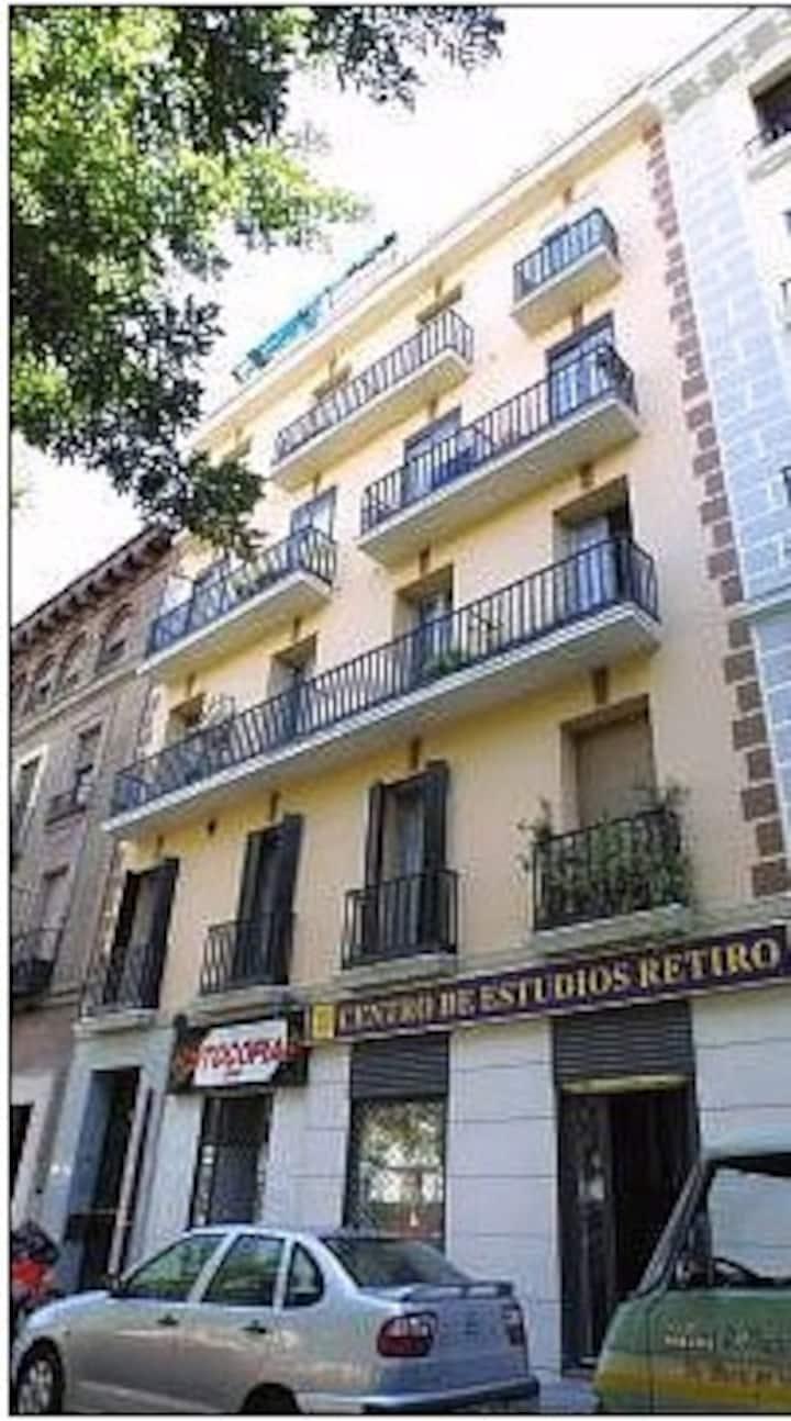 Barrio de Ibiza, frente al Parque del Retiro