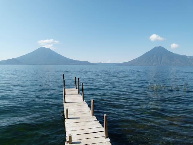 Casita Kolibri am Lago Atitlan in der Bay Paxanax - Solola - Vendégház
