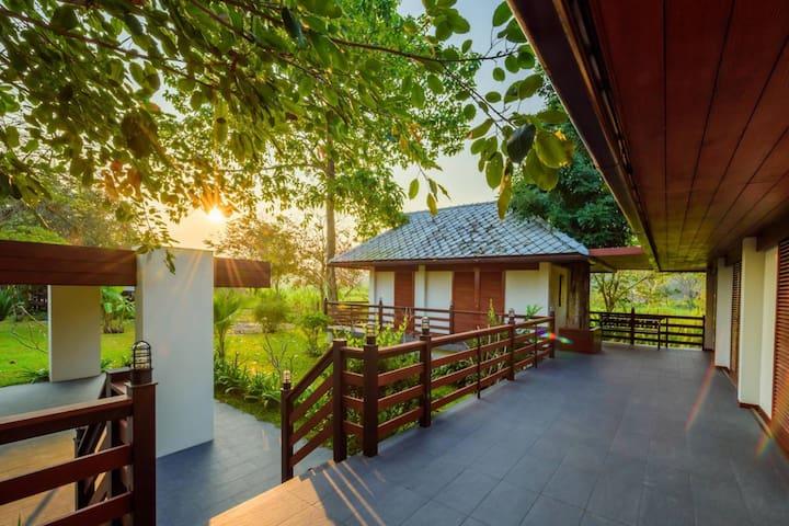 #Family Villa #Garden View #2 Bed Room #Terrace