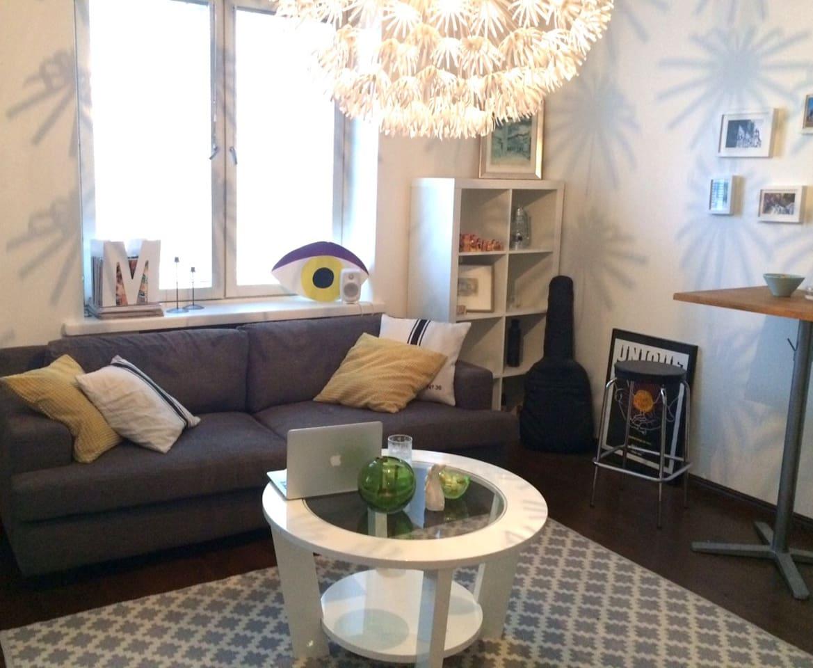 Sofa & living area