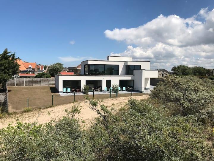 appartement Eb & Vloed: privé terras/duinen/strand