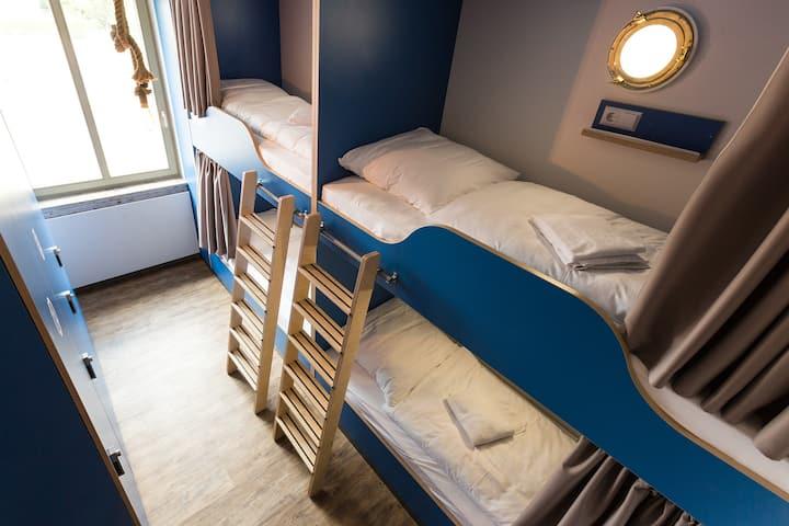 Hostel Heimathafen, (Lörrach), Bett im Hostel Vierbettzimmer