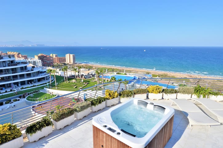 Exclusive Penthouse Infinity View (Jacuzzi)