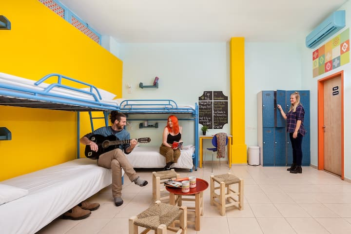 Dorm Bed in Abraham Hostel Jerusalem