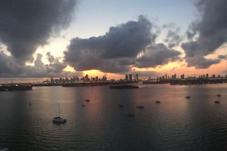 Room in an AMAZING Penhouse/1Million$View - Miami Beach - Apartment