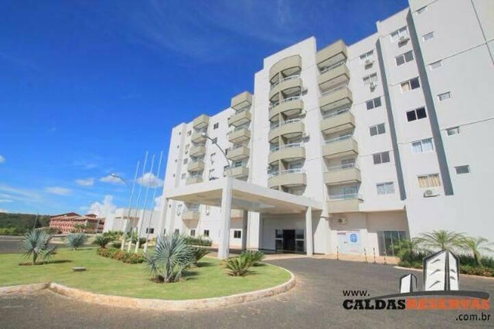LAGOA QUENTE FLAT SERVICE - Caldas Novas - Goiás - Brasil. - Apartment
