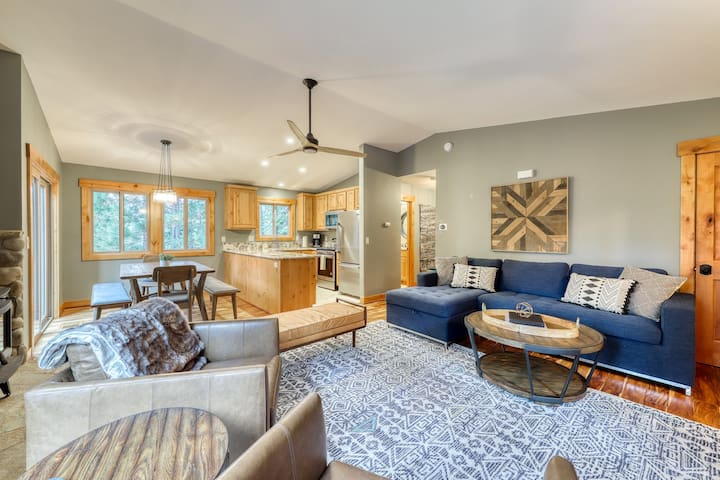 Remodeled home w/ gas stove, unique furnishings, and access to shared amenities!