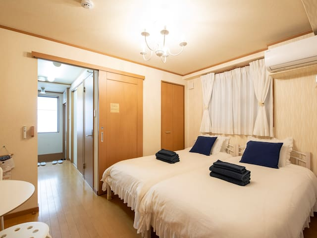 Cleaning¥0!!My favorite room101三宮10minWi-Fi