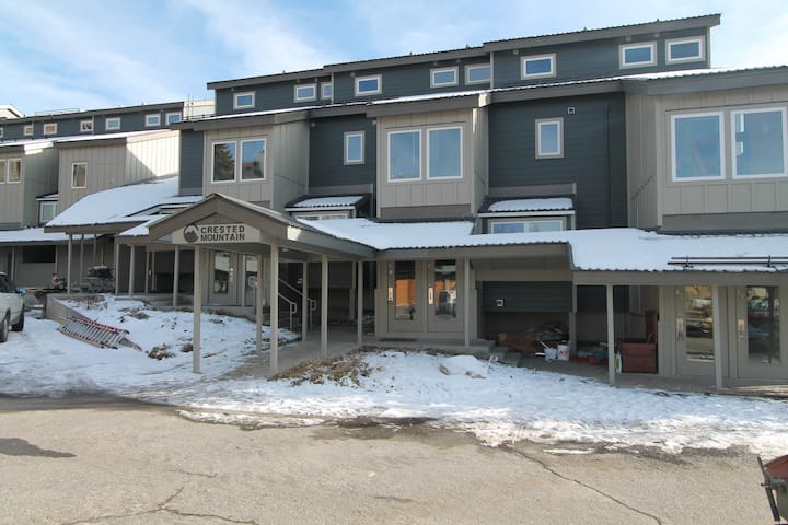 Fabulous Ski In/out Condo, On the Slope!  Steps to Base Area/hot tub.