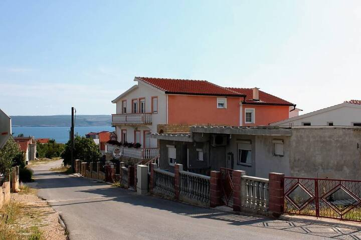 One bedroom apartment with balcony and sea view Maslenica, Novigrad (A-6572-c) - Jasenice - Apartamento