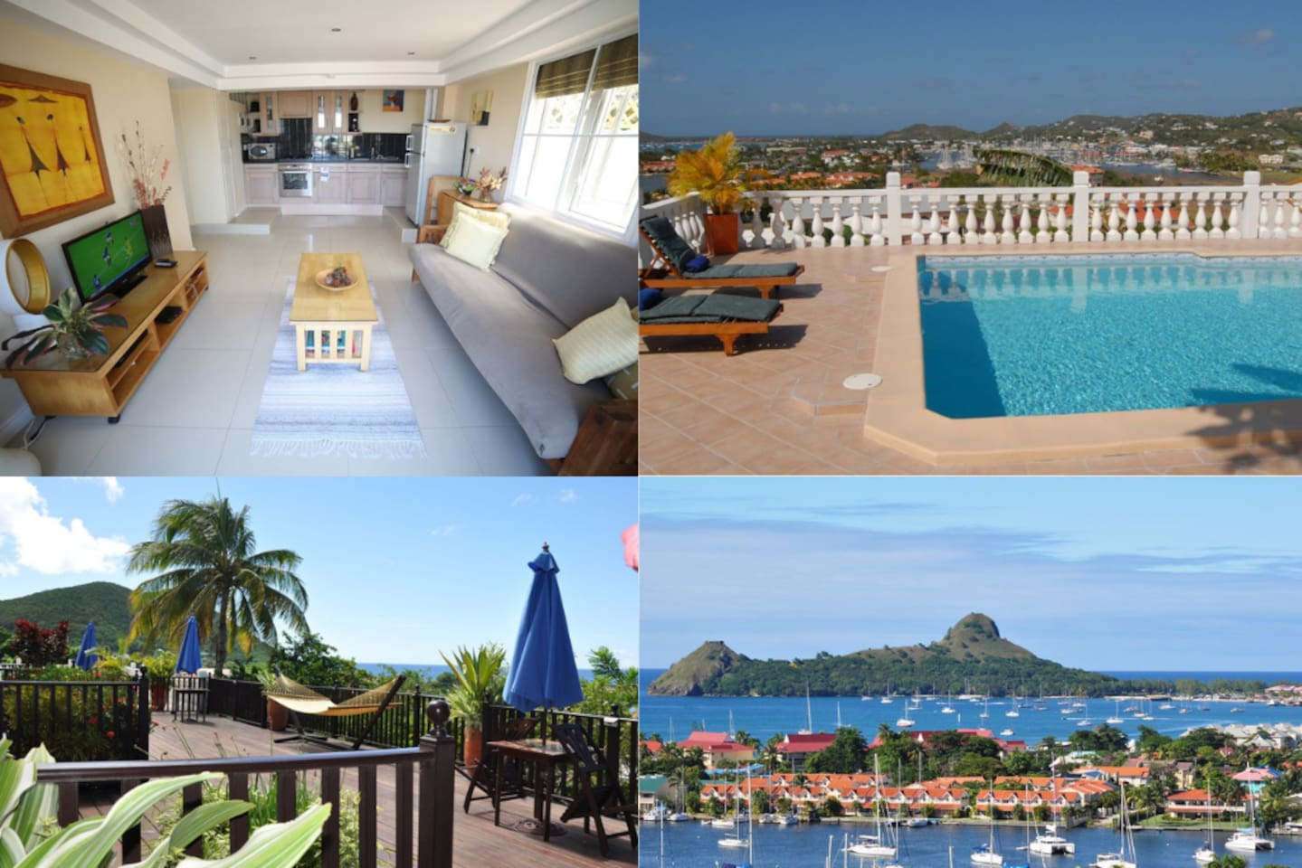 The most amazing views in St Lucia with Comfort in Mind.