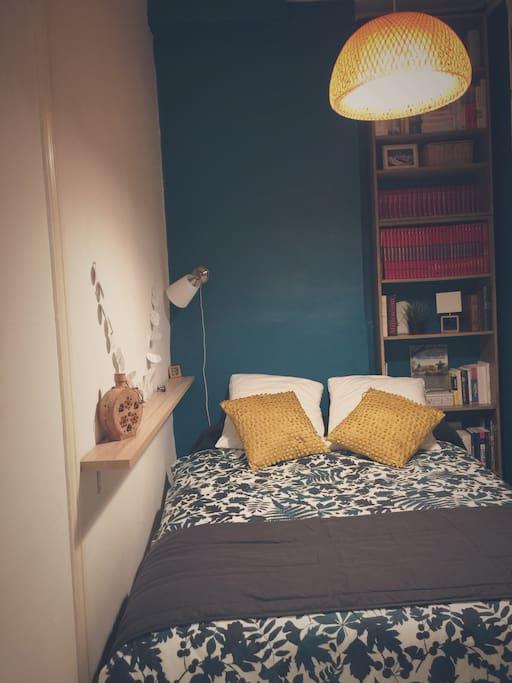 # Chambre Parures lit en coton de soie