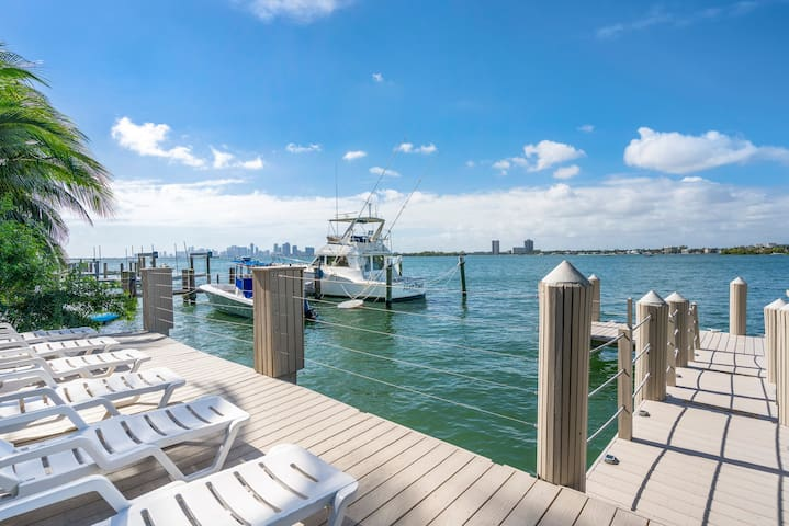 Luxurious Waterfront Home with Pool and Dock
