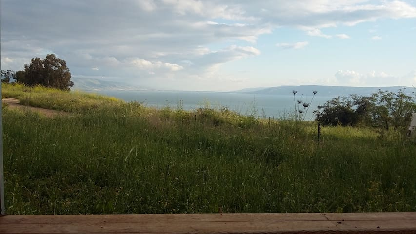 sea of galilee house view - Almagor - Hus