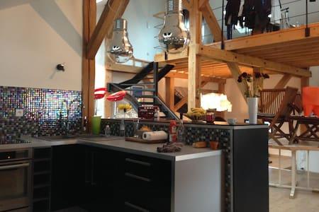 loft dans la grange - Vosges - Apartament