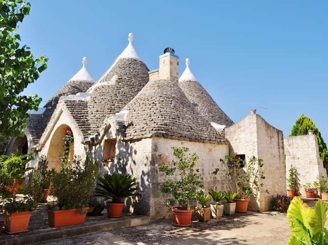 Trulli & Nature in Monopoli - House for 4 people