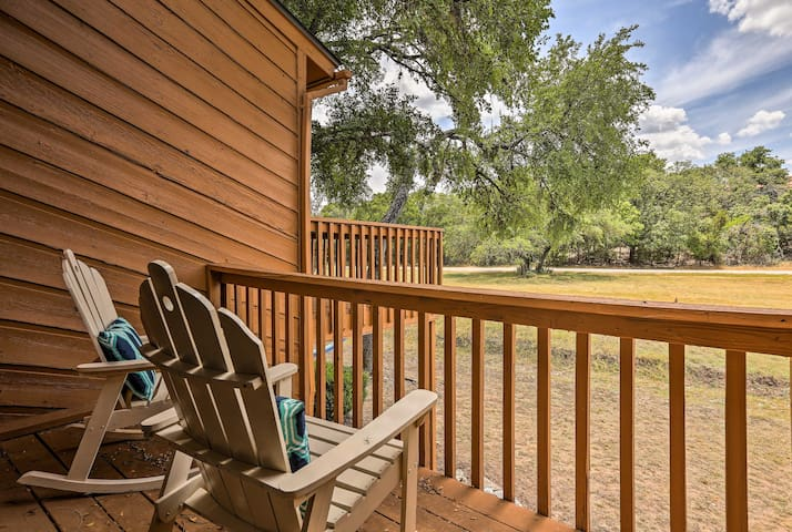 NEW! Wimberley Condo by Creek - Near Jacob's Well!
