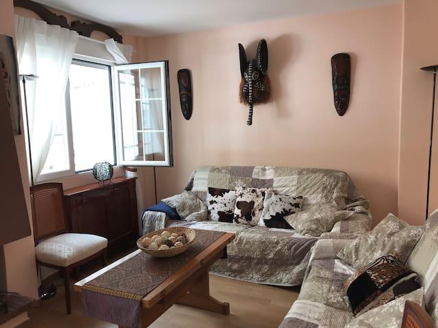 Habitación doble PENALARA Las Rozas/Piscina común