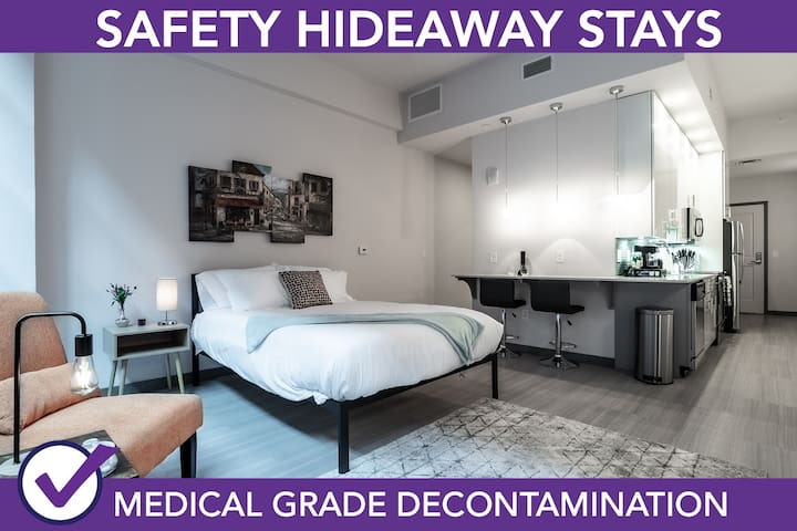 Safety Hideaway - Medical Grade Clean Home 101