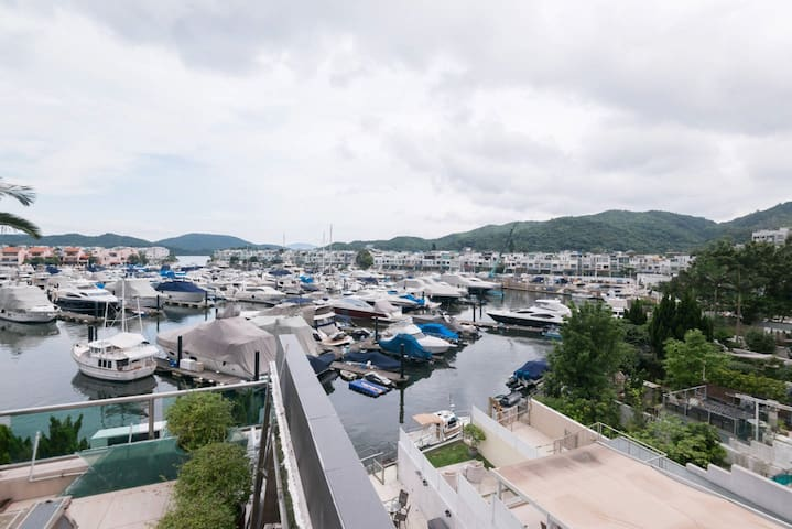 #4-Panoramic ocean view: Private Room in Sai Kung - Hong Kong - Hus