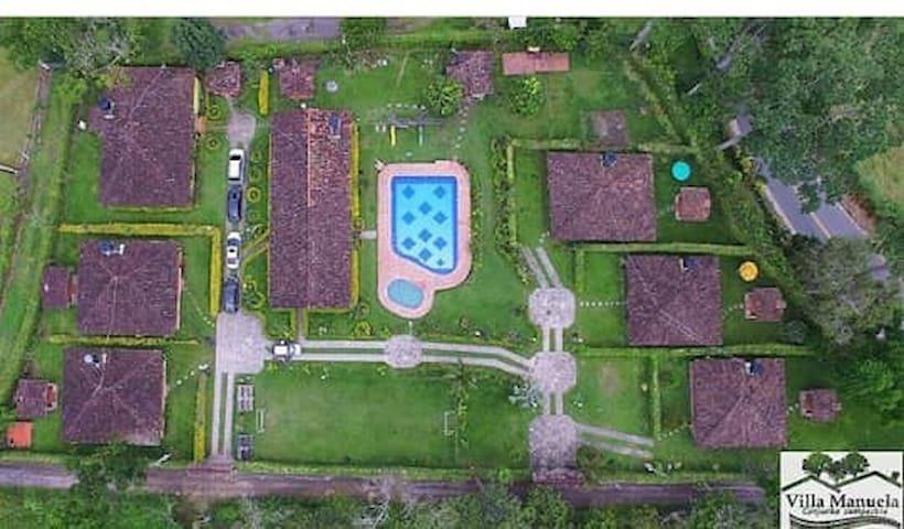 Alquiler Cabañas campestres Villa Manuela