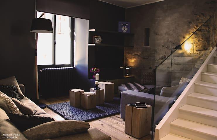 MAISON AU COEUR DU VILLAGE DE ST LARY, 4 étoiles - Saint-Lary-Soulan - Rumah