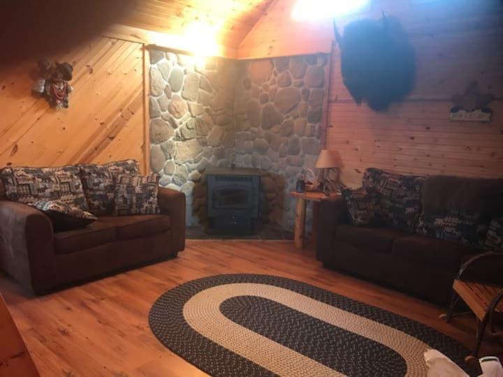 Jimmy Z Bison Ranch Cabin