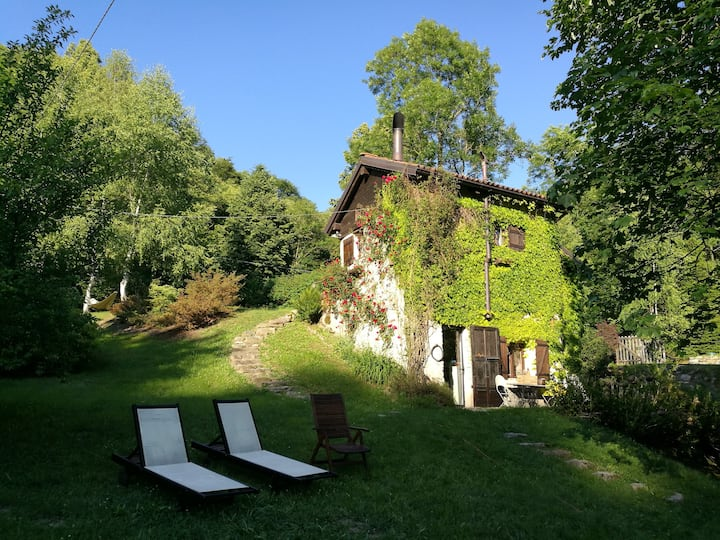 ancient mill in valsesia