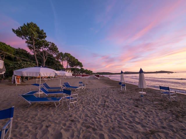 Villa vista mare + spiaggia privata