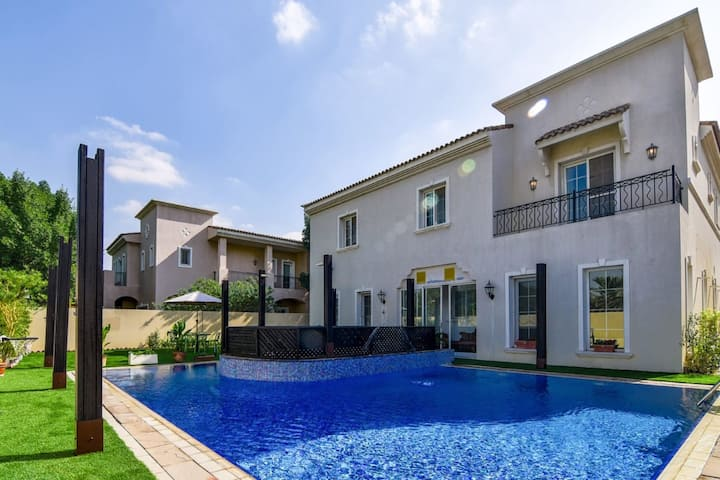 Exclusive Villa In Arabian Ranches with Private Pool