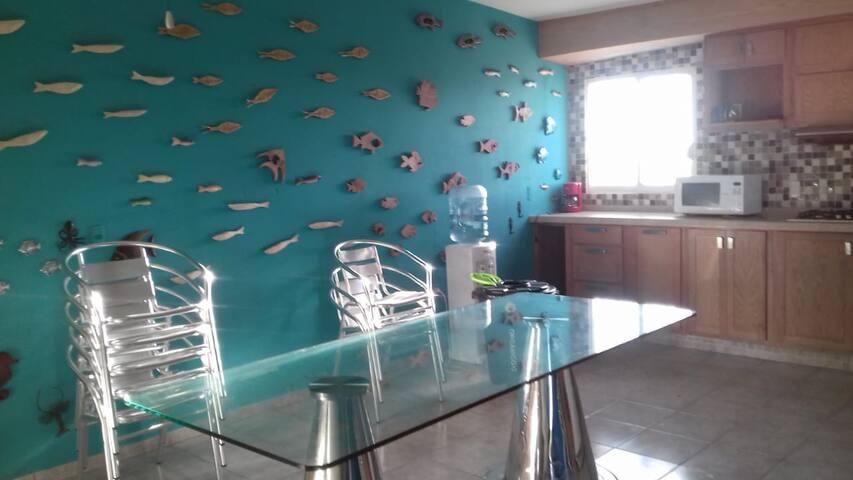 Bella casa de playa en Novilleros (Rancho Sueco)