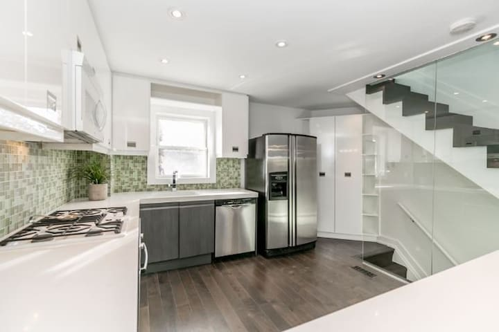 End Unit Townhouse with Views of the CN Tower
