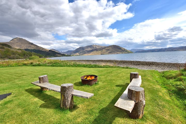 Lochside retreat in Scotland's Knoydart Wilderness