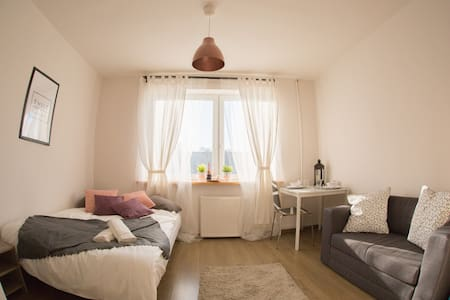 AS HOME cozy&sunny STUDIO City Center - Breslau - Wohnung