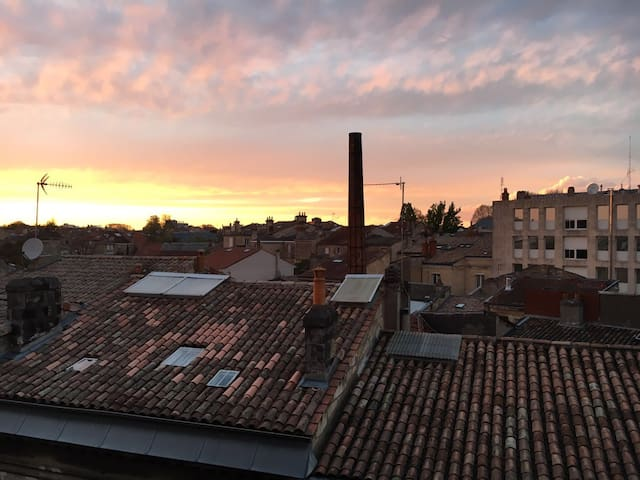 Lovely private bedroom in the heart of Bordeaux - Bordeaux - Apartament