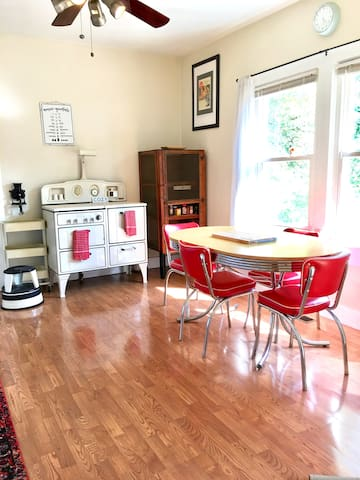 Kitchen- With Wonderful Fully Working Vintage Stove ~
