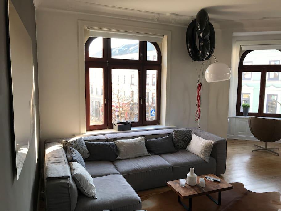 Wohn-/Esszimmer 1