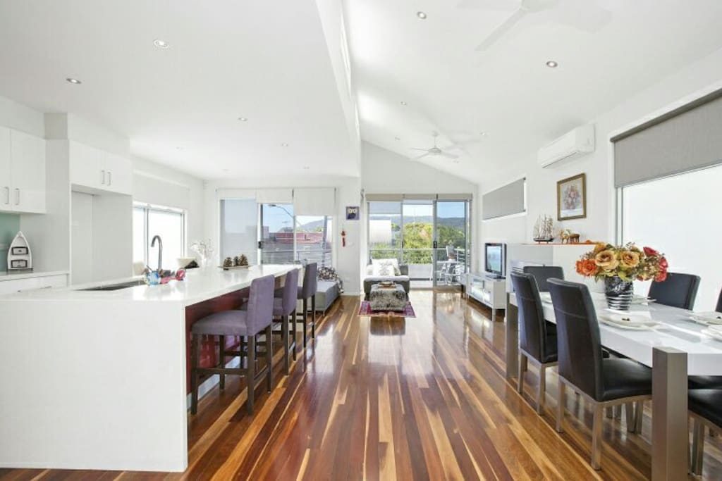 Upstair living areas