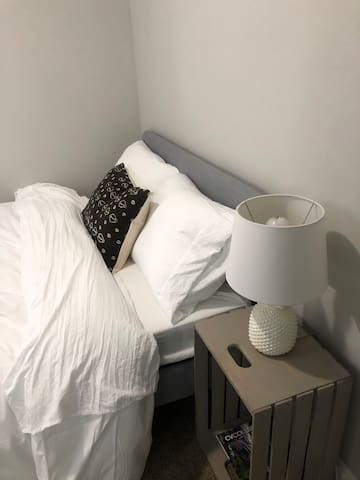 2nd Bedroom - Double bed with super soft sheets and a brand new mattress!