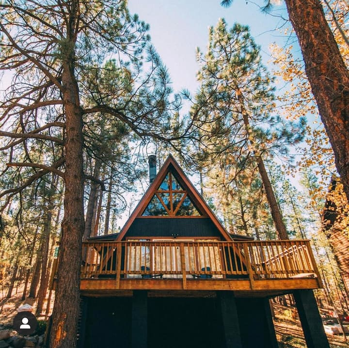 ❅ NEW LISTING ❅ COZY A-FRAME IN THE WOODS @ MUNDS PARK ❅