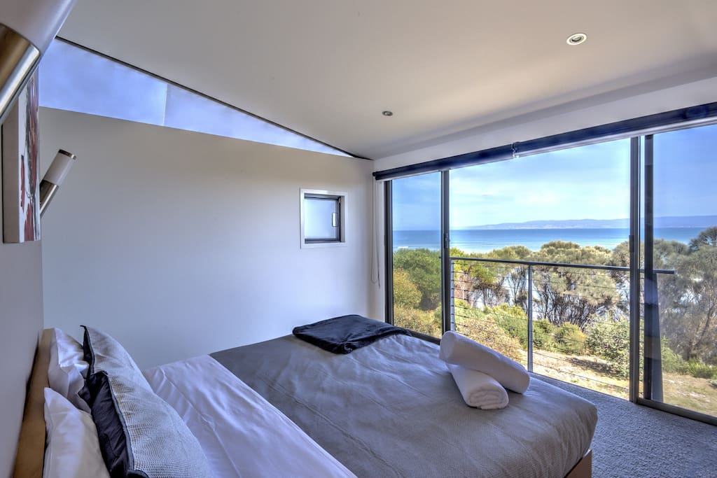 Ocean views from your bed