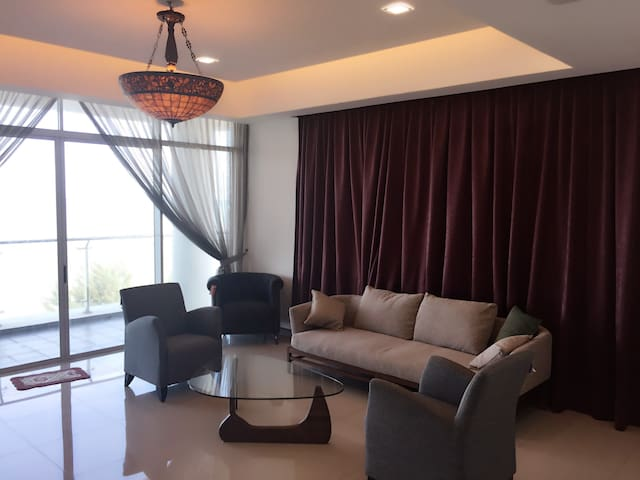 Miri Bay Resort Condominium,  Emerald, Sea View