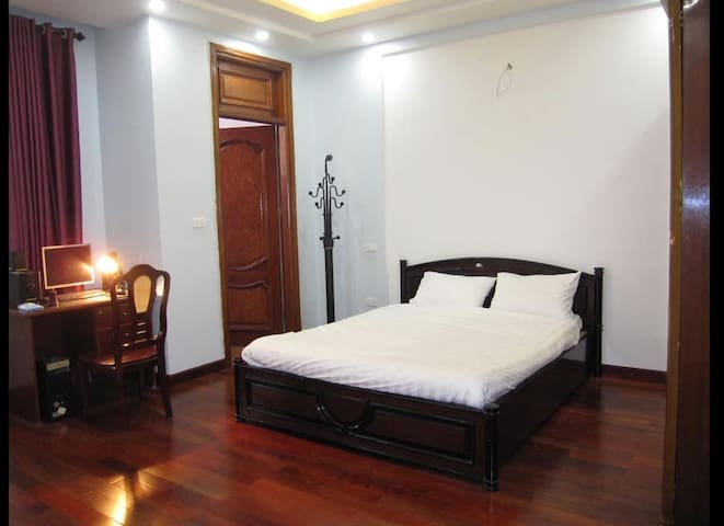 Homestay room with private bathroom in a new house