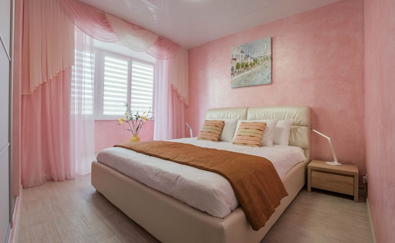 2-room Apartment Lux near Centre Wi-Fi Free