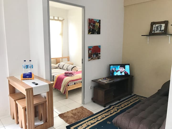 Nice Apartment with 2BR & Balcony