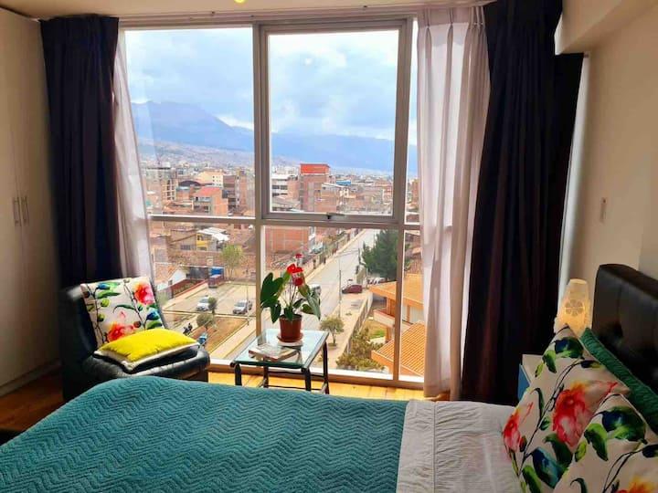 Sunny Apartment with Amazing  Panoramic Views