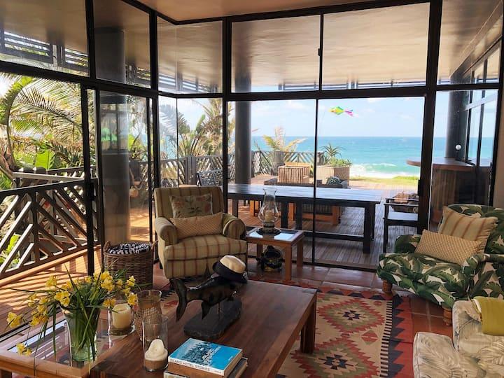 Izwa Manzi Beachfront Villa